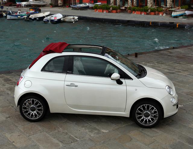 fiat 500 cabrio 2014 listino prezzi auto. Black Bedroom Furniture Sets. Home Design Ideas
