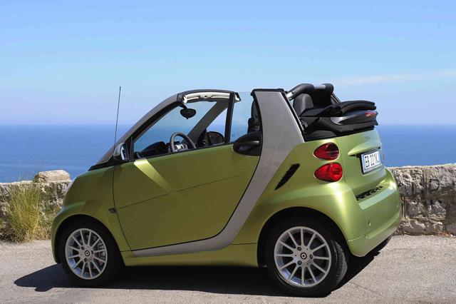smart ForTwo Cabrio 2012