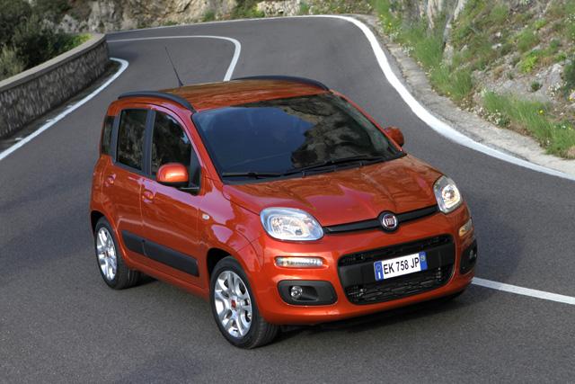 Le auto più vendute in Italia Fiat Panda