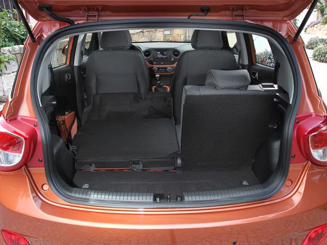 noleggio Hyundai i10 bagagliaio