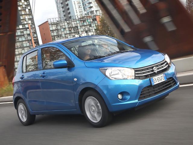 Le auto a benzina più parsimoniose Suzuki Celerio