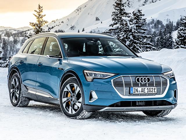 Le più ecologiche Audi e-tron