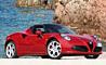 9. Alfa Romeo 4C Spider