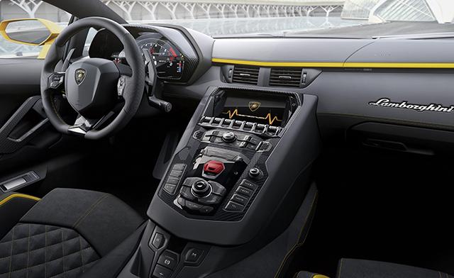 6. Lamborghini Aventador