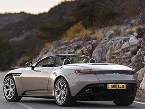 3. Aston Martin DB11 Volante