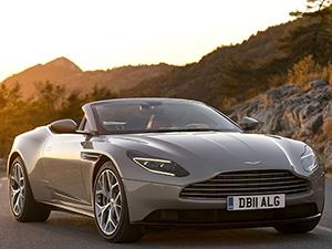 5. Aston Martin DB11 Volante