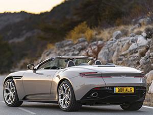 6. Aston Martin DB11 Volante