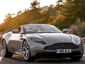 8. Aston Martin DB11 Volante