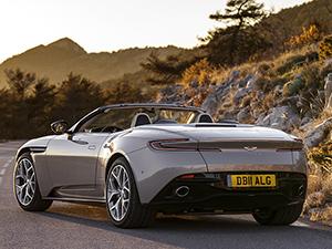 9. Aston Martin DB11 Volante