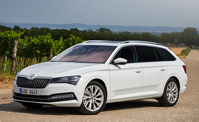 1. Skoda Superb Wagon