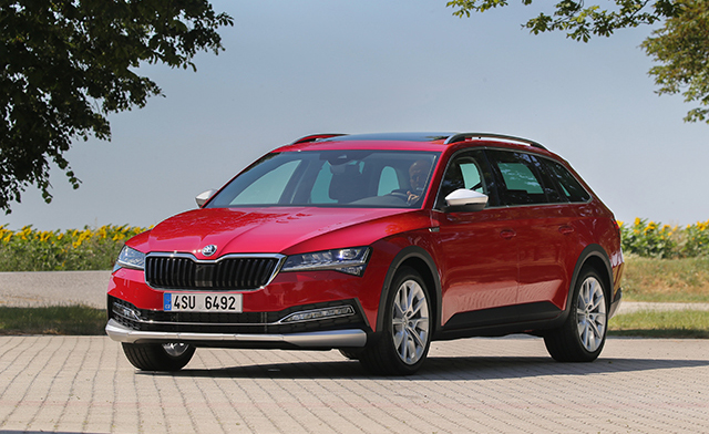 3. Skoda Superb Wagon