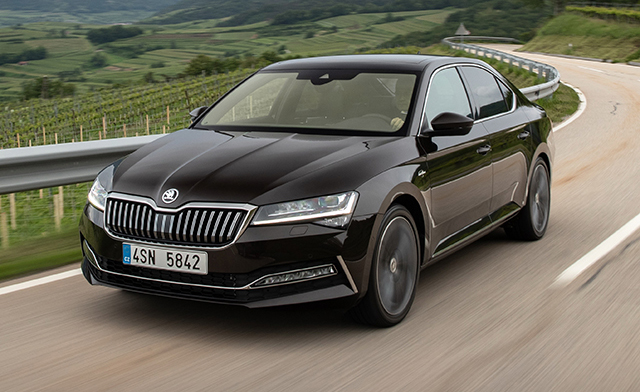 6. Skoda Superb Wagon