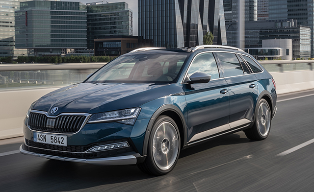 8. Skoda Superb Wagon